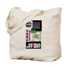 Vegan/Animal Rights Scrapbook Tote Bag
