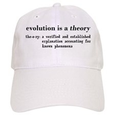 evolution is a theory Baseball Baseball Cap