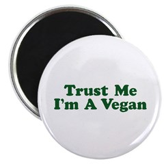 Trust Me I'm a Vegan Magnet