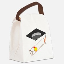 00013_Graduation.gif Canvas Lunch Bag