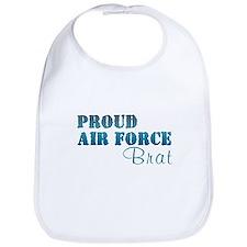 Unique Proud military brat Bib
