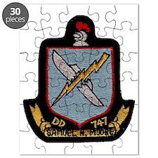 uss samuel n. moore patch transparent Puzzle