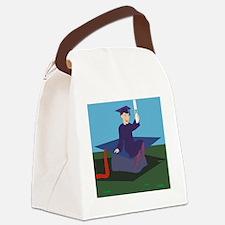 00037_Graduation.gif Canvas Lunch Bag