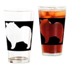 keeshondpatch Drinking Glass