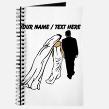 Custom Bride And Groom Journal