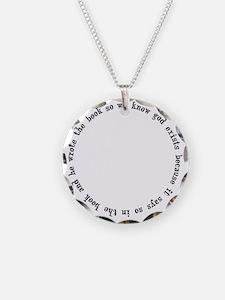 god exists circular argument Necklace