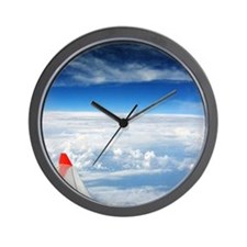 Flight Above Wall Clock