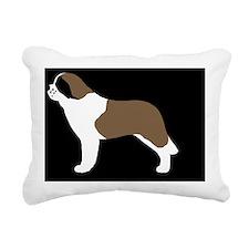 stbernardpatch Rectangular Canvas Pillow