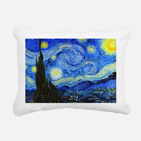 Van Gogh Rectangular Canvas Pillow