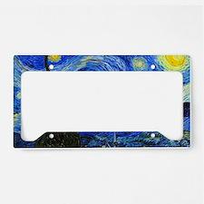 Van Gogh License Plate Holder