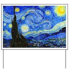 Van Gogh Yard Sign
