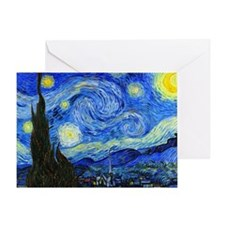 Van Gogh Greeting Card