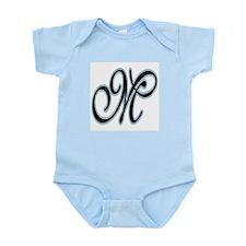 M Monogram Infant Bodysuit