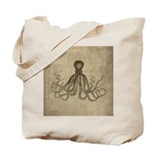 Lord Bodner Octopus Triptych Tote Bag