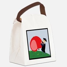 00119_Graduation.gif Canvas Lunch Bag