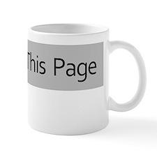 Like this Page Mug