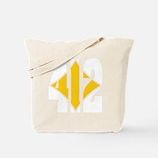 412 White/Gold-W Tote Bag