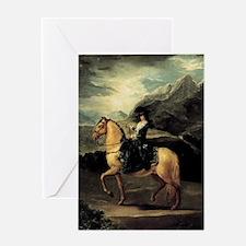 Francisco Goya Portrait Of Maria Ter Greeting Card