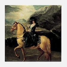 Francisco Goya Portrait Of Maria Tere Tile Coaster