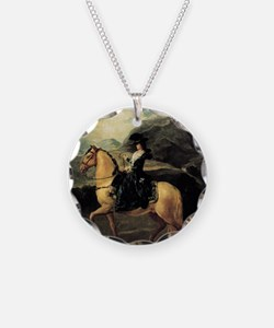 Francisco Goya Portrait Of M Necklace