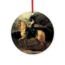 Francisco Goya Portrait Of Maria Te Round Ornament