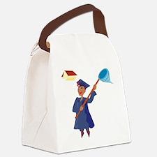 00156_Graduation.gif Canvas Lunch Bag