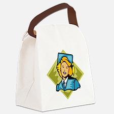 00087_Graduation.gif Canvas Lunch Bag