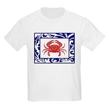 """The Fab Crab"" --  Kids T-Shirt"