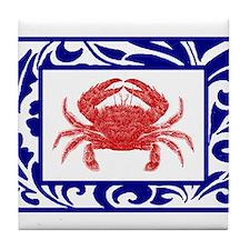 """The Fab Crab"" --  Tile Coaster"