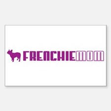 Frenchie Mom 2 Rectangle Decal