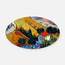 miniposter Oval Car Magnet