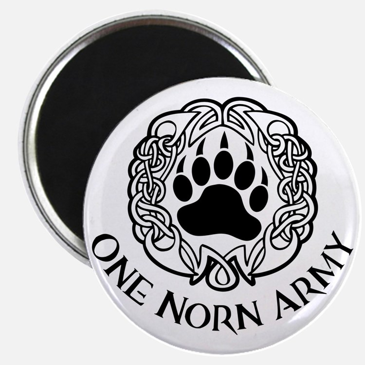 One Norn Army Magnet