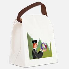 00172_Graduation.gif Canvas Lunch Bag