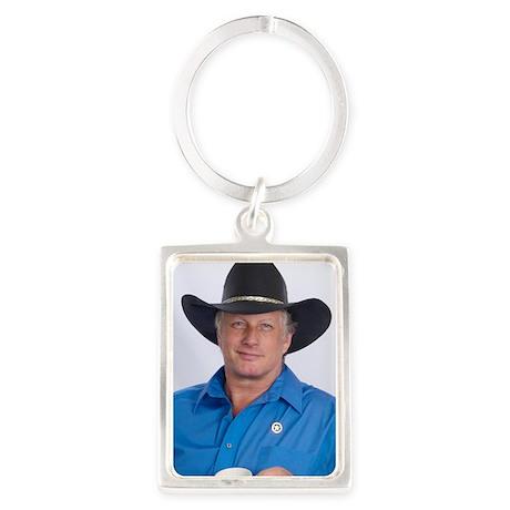 Wild Bill for America Portrait Keychain