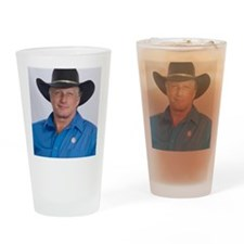 Wild Bill for America Drinking Glass