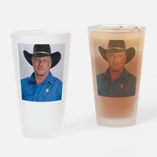 Wild Bill for America Drinking Glass