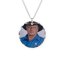 Wild Bill for America Necklace Circle Charm