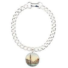 Vintage Venice Charm Bracelet, One Charm