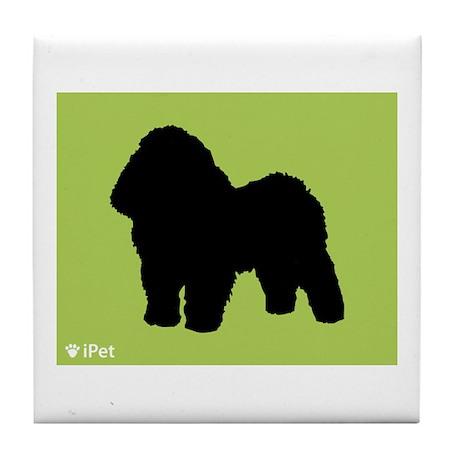 Bolognese iPet Tile Coaster