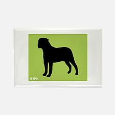Bullmastiff iPet Rectangle Magnet (100 pack)