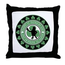 Leprechaun - St. Partrick's D Throw Pillow
