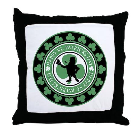 Leprechaun - St. Partrick's D Throw Pillow