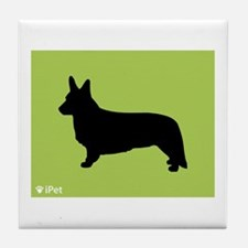 Cardigan iPet Tile Coaster