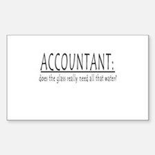 ACCOUNTANT Rectangle Decal