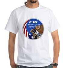 F-16 Fighting Falcon West Coast D Shirt