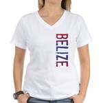 Belize Women's V-Neck T-Shirt