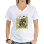 Assorted Poultry #3 Women's V-Neck T-Shirt