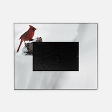 Cardinal On Stump Picture Frame