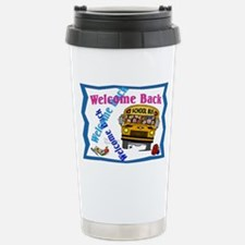 Welcome Back to School Stainless Steel Travel Mug