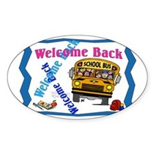 Welcome Back to School Decal